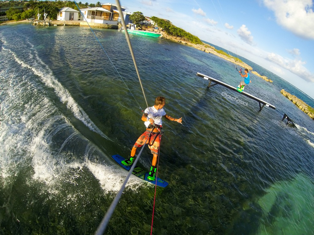 Kiteboarding in Antigua